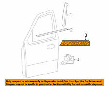 Ford OEM 2005-2012 Escape Front Door Emblem Badge Nameplate 5M6Z7842528AA NIP