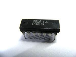 LM1310N FM Stereo Demodulator IC - 14 pin DIL