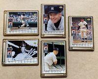 MICKEY MANTLE tin baseball cards. 1995 Upper Deck. Yankees