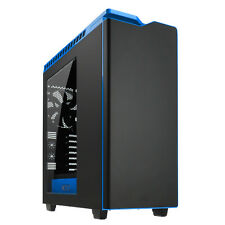 Nzxt h440 Mid Tower Pc Gaming Funda Ventana Lateral Usb 3.0 4 x Ventiladores De 120mm-Negro / Azul