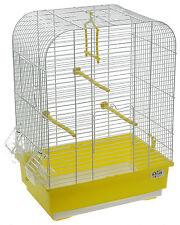 Gabbia Voliera ALINA per Pappagalli uccelli Canarini 40x27x55 cova + omaggio