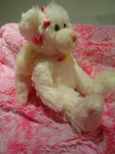 First And Main White Plush Angel Bear.Very Soft