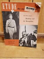 Etude: The Music Magazine, September 1949 Ezio Pinza Broadway & the Metropolitan