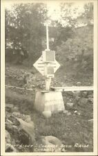 Chambly Quebec Chambly Basin Range Rear Lighthouse Real Photo Postcard