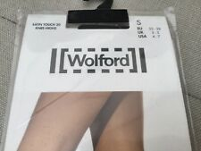 Wolford Satin Touch 20 Knee Highs - Small 3-5 - Admiral