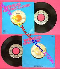 LP 45 7''WINGS Getting closer Spit it on 1979 france PAUL MCCARTNEY no cd mc dvd