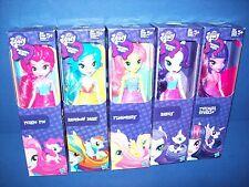 MY LITTLE PONY Equestria Girls 5 Doll lot Rainbow Dash -Fluttershy - Pinkie Pie