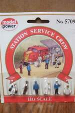 MODEL POWER STATION SERVICE CREW HO SCALE FIGURES