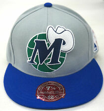 NBA Dallas Mavericks Mitchell and Ness Cap Hat Vintage Fitted M&N RARE NEW!!