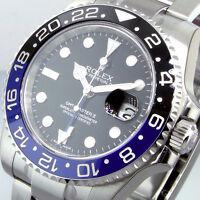 ROLEX GMT MASTER ll 116710BLNR BATMAN STEEL BLUE BLACK 116710 BLNR
