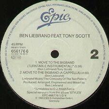 BEN LIEBRAND - Move To The Bigband , Feat. Tony Scott - Epic