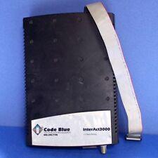 COLD BLUE INTERACT3000 24VAC 50/60HZ EMERGENCY SPEAKERPHONE INTERCOM, CB3000