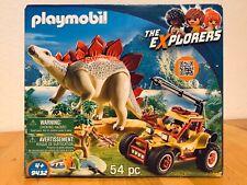 Playmobil 9432 - The Explorers - Forschermobil Stegosaurus Dinosaurier - OVP