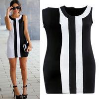 Women's Ladies Bodycon Clubwear Party Cocktail OL Pencil Tunic Short Mini Dress