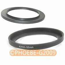 42mm to 52mm 42-52 mm Step Up Filter Ring  Adapter