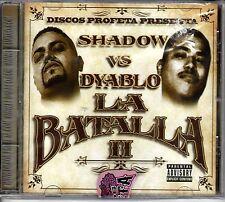 Dyablo , Profeta Records. La Batalla 2  Chicano Rap, r&b, Espanol [CD New]