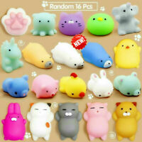 16 Pcs Squishy Toys Stress Relief Animal Toys Squeeze Toys Gift