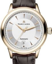 MAURICE LACROIX Damenuhr classic Automatik 750 gold neu °°