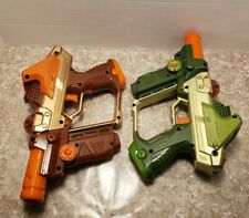 (2) Tiger Electronics LAZER TAG Team Ops Deluxe Laser GUN