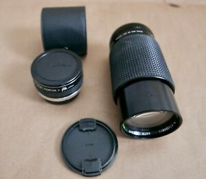 Sears 70-210MM f4.0 W/ Macro Lens and 2X Teleconverter Pentax K Mount
