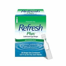 Refresh Plus Lubricant Eye Drops Single-Use Containers