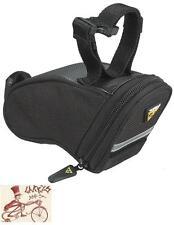 TOPEAK AERO WEDGE MICRO BLACK BICYCLE SEAT SADDLE BAG W/ STRAPS