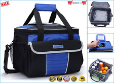 MIER Adult Lunch Box Insulated Bag Soft Cooler Adjustable Strap Work Men Women