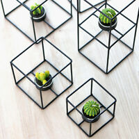 Iron Metal Geometric Votive Candle Holder Tea Light Candlestick Table Decor