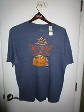 NEW Tommy Bahama , Let's Taco 'Bout It Later Tee Shirt  XL