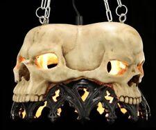 Tête de mort plafonnier Markus Mayer - Lampe suspendue Gothique Crâne fantasie