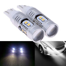 2X High Power T10 W5W 100W 6500K 2323 LED Car Running DRL Lights Brake Lamp Blub