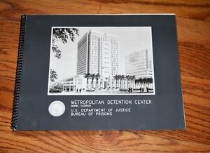 Federal Bureau Prisons FCI Metropolitan Detention Center Miami Florida BLUEPRINT
