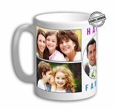 Personalised PHOTO COLLAGE Mug. Customise with your Own Photos & Text -IL5985.