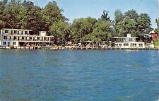 Himrod New York~Seneca Lake~Showboat Motel~Waterfront Docks~Boardwalk~1966