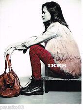 PUBLICITE ADVERTISING 065  2013  IKKS  pret à porter femme