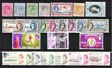 Bahamas  -. Occupazione Inglese - Lotto da  25  Francobolli (Stamps) - perfetti