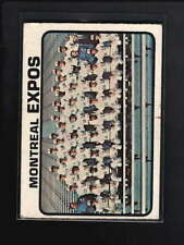 1973 TOPPS #576 MONTREAL EXPOS TEAM CARD VG-EX D6537