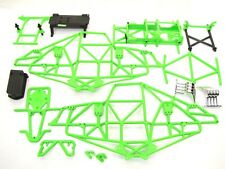Axial SMT10 Grave Digger green MAIN FRAME & Cage Chassis tubes rollcage AXI03019