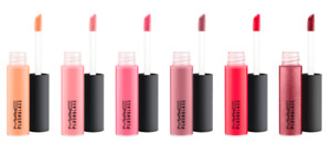 MAC Plushglass Lip Volumizer LipGloss (Select Color) 4.2 ml/.14 oz Full Size