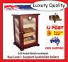 Hand Made 150+ Count Cigar Humidor Box Cabinet Mahogany Humidifier Hygrometer 23
