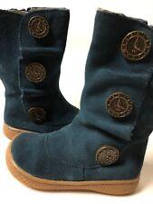 EUC LN Livie & Luca Shoes Boots Marchita Tiempo Sky Blue Toddler 5 HTF