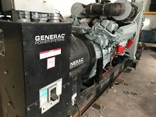 800 kw Commercial Generator  - 810 kw  S12A2 - PTA 285 HRS + Silencer