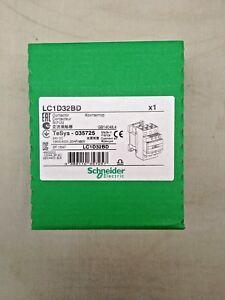 SCHNEIDER ELECTRIC 3 POLE CONTACTOR 32 A 3P LC1D32BD