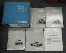 1998 Mazda B Series Truck Service Repair Manual Set