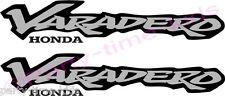 Honda varadero XL125 XL1000 Bicicleta de la etiqueta del vinilo adhesivo Motocicleta Elección del Color