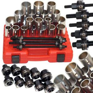27pc Press Pull Sleeve Kit Removal Installation Wheel Bearing Bush & Seal Tool