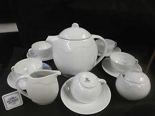 RICHARD GINORI decoro con fiore Bianco-SERVIZIO THE con 6 TAZZE-Set teapot cups