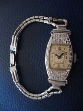 BULOVA ANTIQUE VINTAGE LAUREL LADIES WATCH NOT RUNNING GREAT COSMETIC CONDITION!