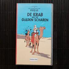KUIFJE - DE KRAB MET DE GULDEN SCHAREN - DEEL 7 - VHS