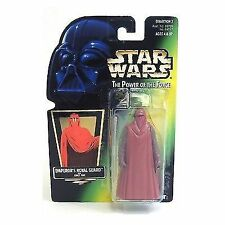 Kenner Star Wars Power Of The Force Green Card Hologram EmperorS Royal Guard Ac…